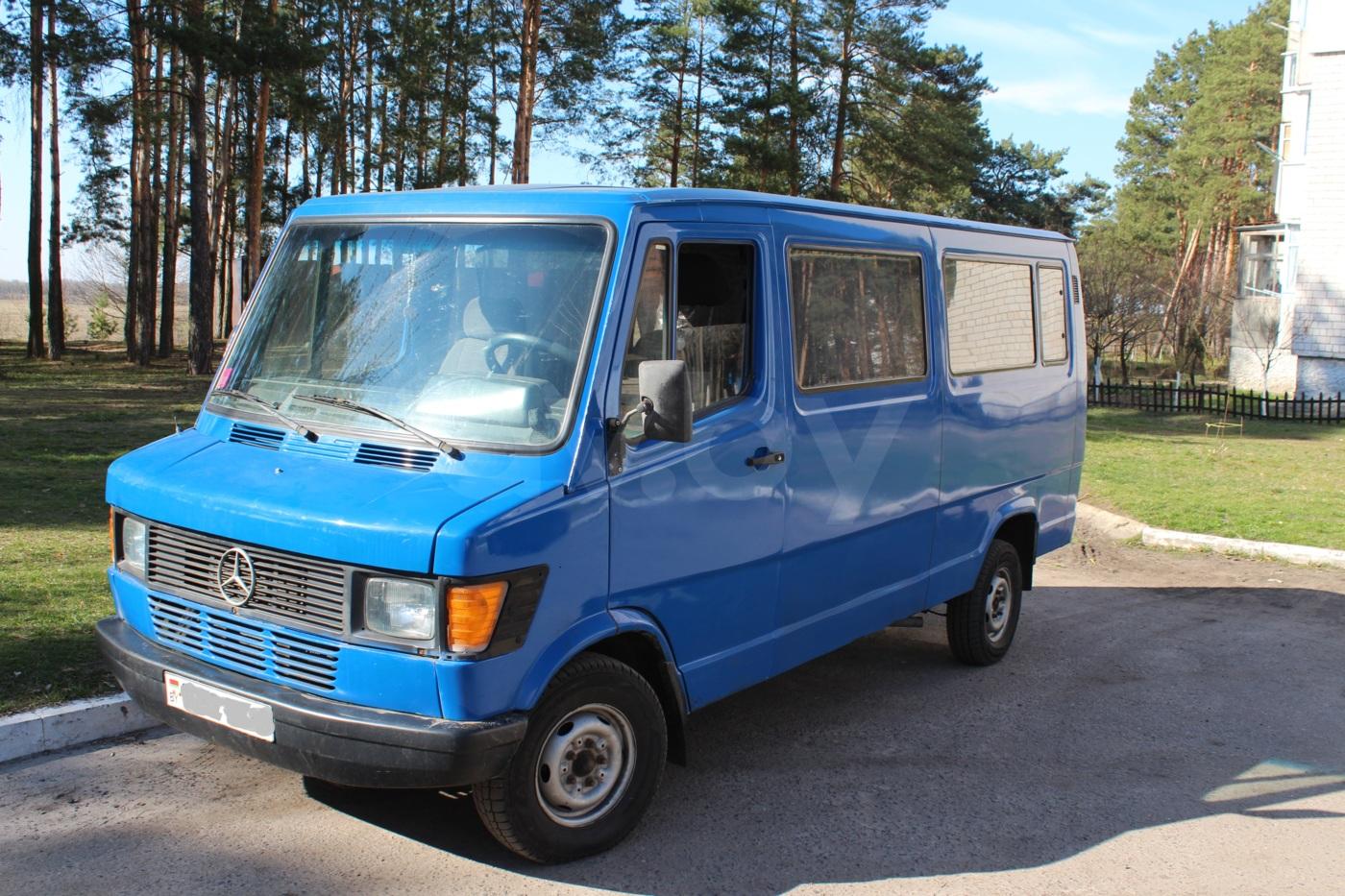 Mercedes-Benz T1 (207D-410D) 208d, 1992 г.