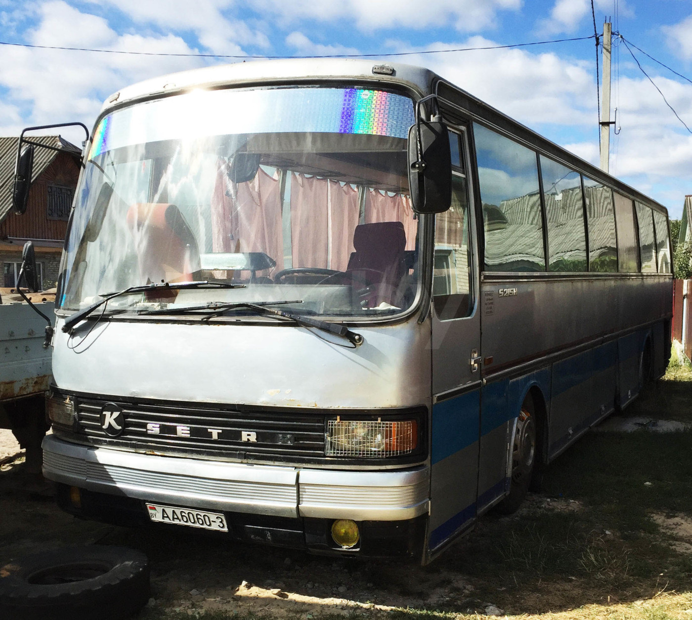Setra S215, 1980 г.