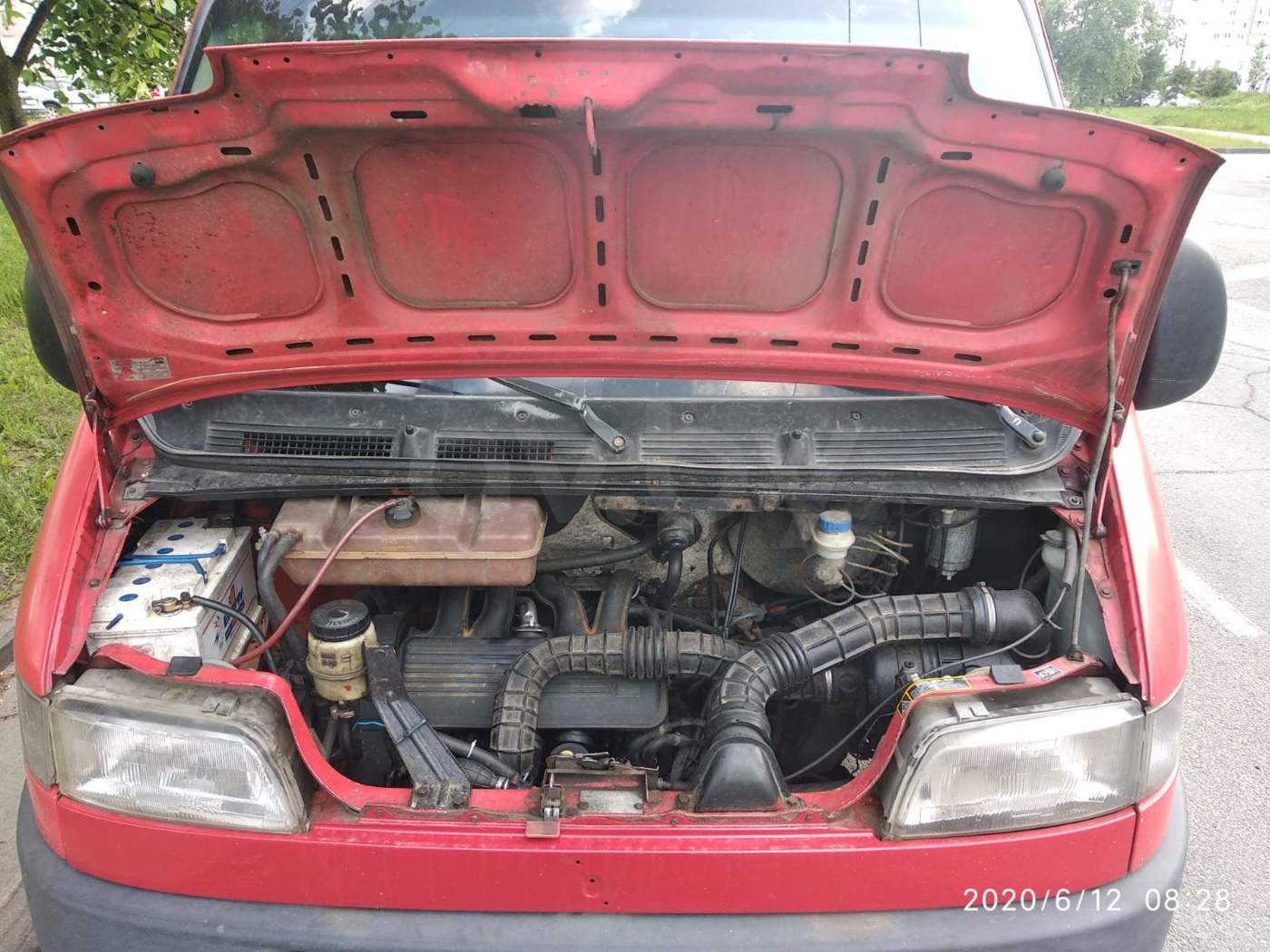 Fiat Ducato грузопассажирский, 2000 г.