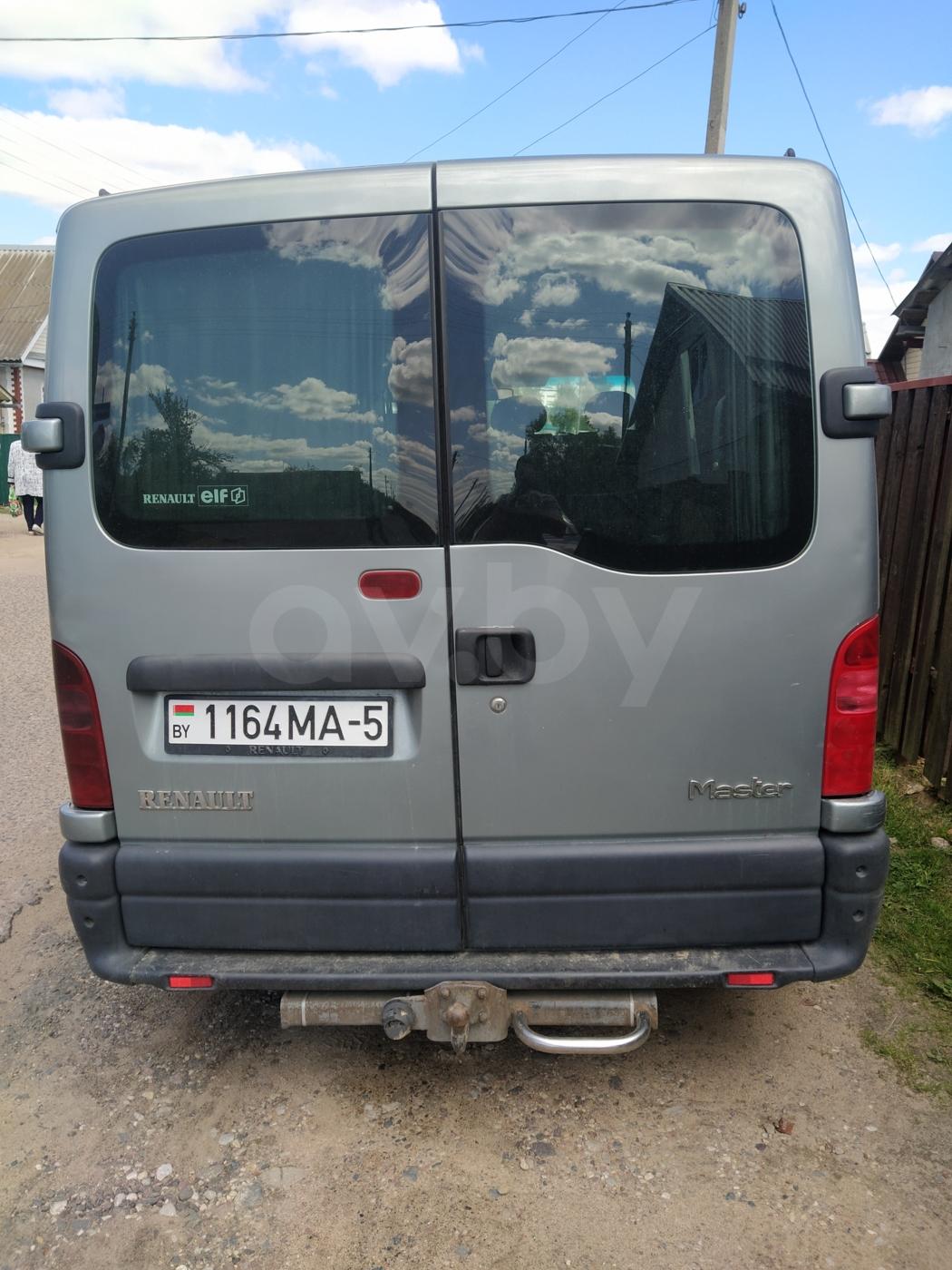 Renault Master Master 2, 2000 г.