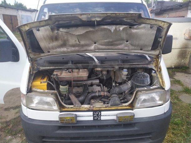 Peugeot Boxer, 1998 г.