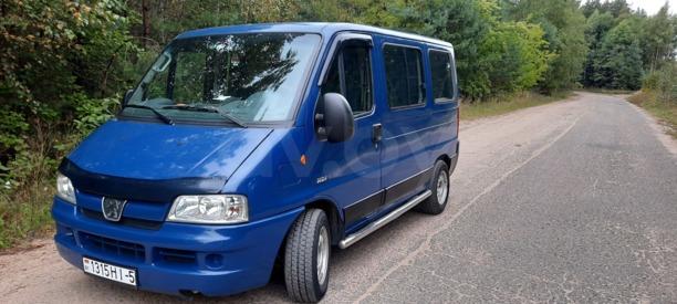 Peugeot Boxer, 2002 г.