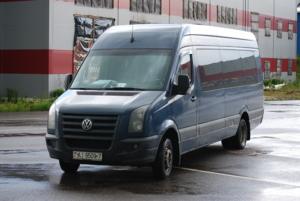 "Volkswagen Crafter Переоборудован на ""Атлант-М Сухарево"" 2014 г., 2008 г."