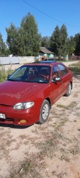 Hyundai Accent X3, 1998г.