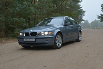 BMW 3 серия E46, 2004 г.