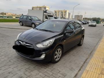 Hyundai Accent RB, 2013 г.