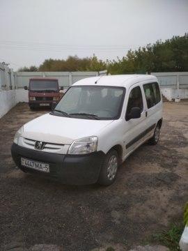 Peugeot Partner Origin · Рестайлинг, 2009 г.