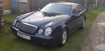 Mercedes-Benz CLK C208 (Рестайлинг), 2000 г.