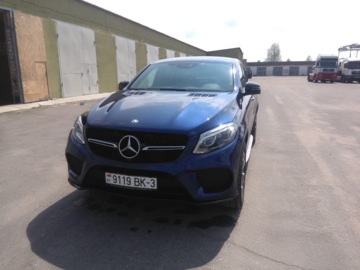 Mercedes-Benz GLE Coupe, 2017 г.