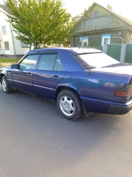 Mercedes-Benz E-Класс W124, S124, C124, A124, 1986 г.
