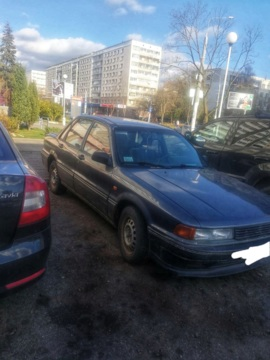 Mitsubishi Galant VI, 1990 г.