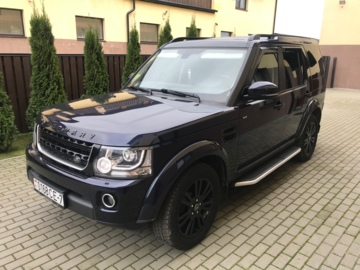 Land Rover Discovery IV · Рестайлинг, 5 мест, 2014 г.