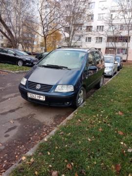 Volkswagen Sharan I · Рестайлинг, 2001 г.