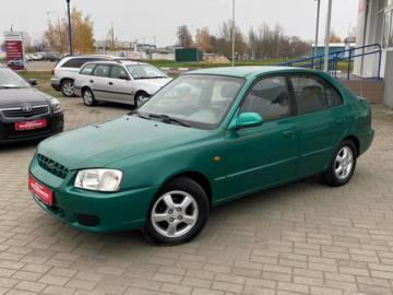 Hyundai Accent LC, 2000 г.
