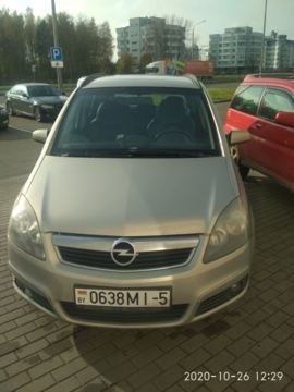 Opel Zafira B, 2006 г.