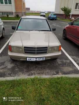 Mercedes-Benz 190 (W201), 1987 г.