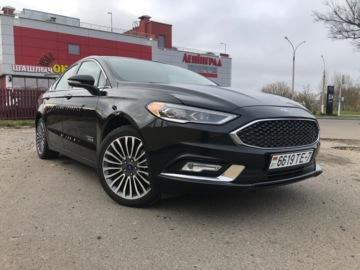 Ford Fusion USA II · Рестайлинг, 2017 г.
