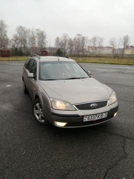 Ford Mondeo III, 2002 г.