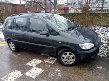 Opel Zafira A, 7 мест, 2000 г.