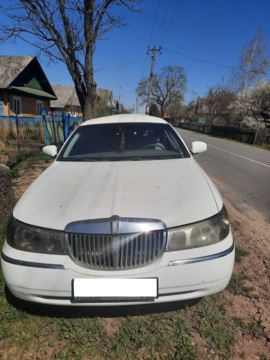 Lincoln Town Car III, 2001 г.