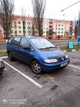 Volkswagen Sharan I, 1995 г.