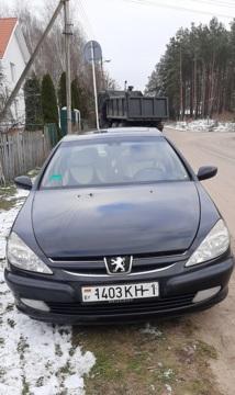 Peugeot 607 I, 2002 г.