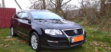 Volkswagen Passat B6, 2010 г.