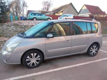 Renault Espace IV, 7 мест, 2003 г.