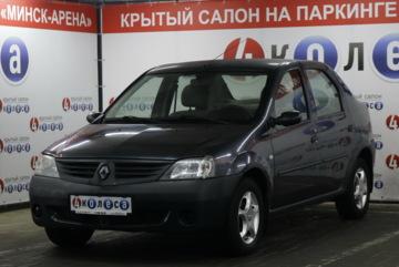 Renault Logan I · Рестайлинг, 2008 г.