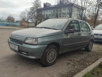 Renault Clio I, 1992 г.