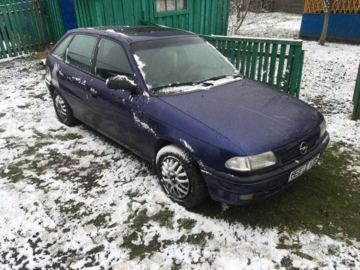 Opel Astra F · Рестайлинг, 1997 г.