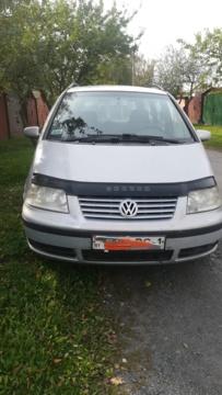 Volkswagen Sharan I · Рестайлинг, 5 мест, 2000 г.