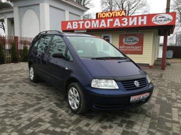 Volkswagen Sharan I · Рестайлинг, 2002 г.