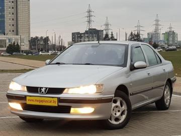 Peugeot 406 I · Рестайлинг, 2001 г.