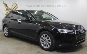 Audi A4 B9, 2016 г.