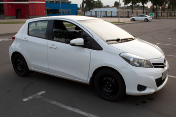 Toyota Yaris III (XP130), 2014 г.