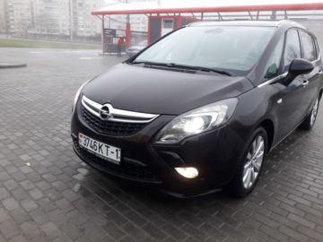 Opel Zafira C, 2015 г.