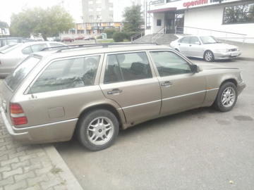 Mercedes-Benz E-Класс W124, S124, C124, A124, 1991 г.