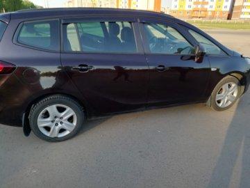 Opel Zafira C, 7 мест, 2012 г.