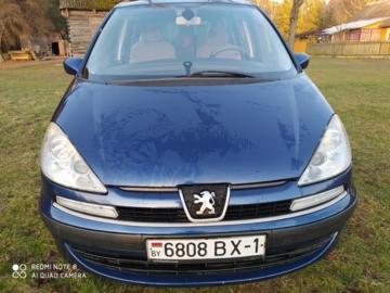 Peugeot 807 I, 5 мест, 2005 г.