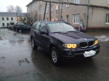 BMW X5 E53, 5 мест, 2005 г.