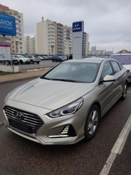 Hyundai Sonata LF, 2018 г.