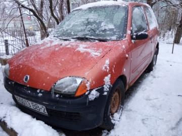 Fiat Seicento I, 2002 г.