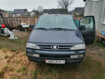 Peugeot 806 221, 5 мест, 1999 г.