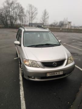 Mazda MPV II, 7 мест, 1999 г.