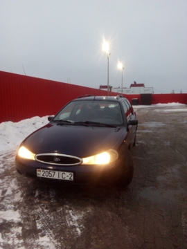 Ford Mondeo II, 1997 г.
