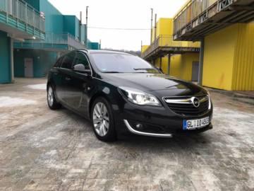 Opel Insignia I · Рестайлинг, 2016 г.