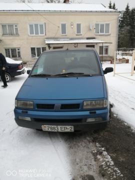 Fiat Ulysse I, 5 мест, 1997 г.