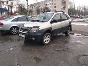 Renault Scenic RX4, 2002 г.