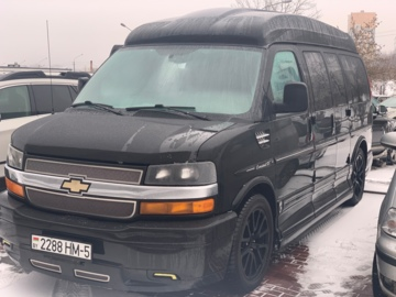 Chevrolet Express I · Рестайлинг, 2014 г.